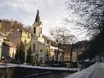 Karlovy Vary - Église de Pavel Farský